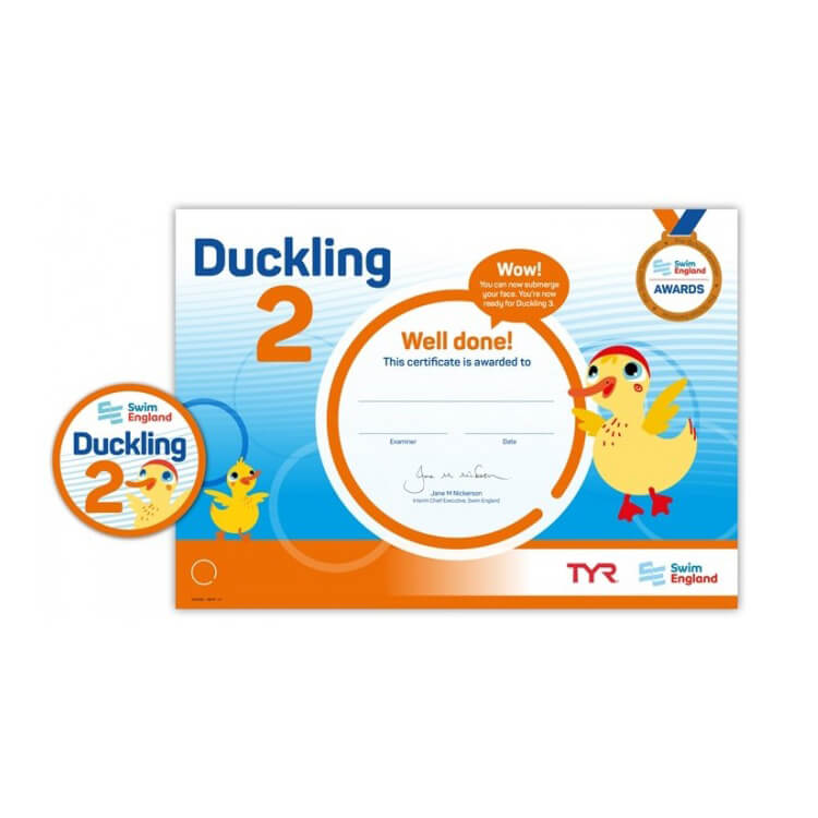 Star Swimming Academy Online Shop - Learn to Swim - Duckling Award 2