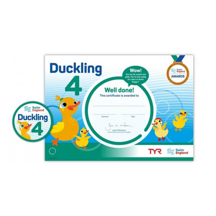 Star Swimming Academy Online Shop - Learn to Swim - Duckling Award 4