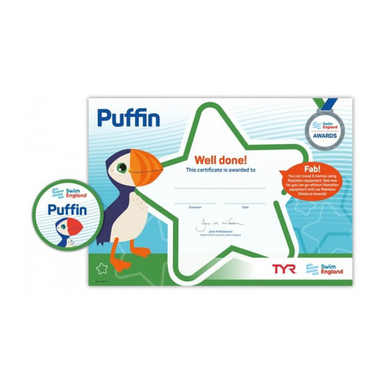 Star Swimming Academy Online Shop - Learn to Swim - Puffin-award