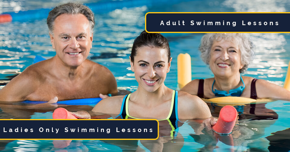 adult and ladies only learn to swim sessions