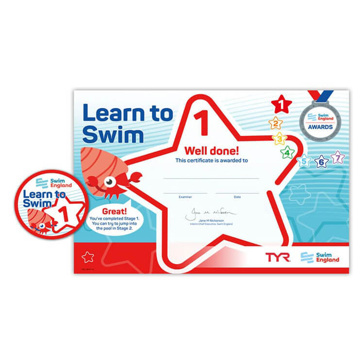 Star Swimming Academy Online Shop - Learn to Swim - Swim England Stage 1 Award