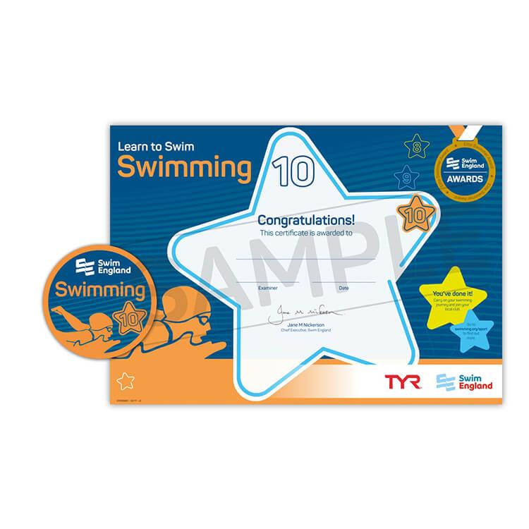 Star Swimming Academy Online Shop - Learn to Swim - Swim England Stage 10 Award