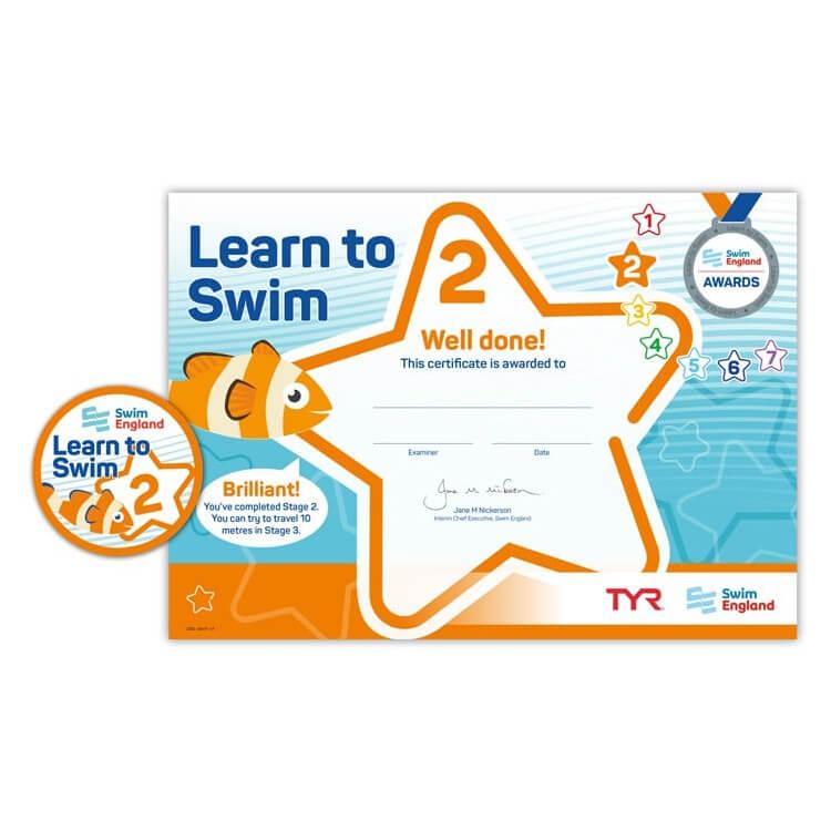 Star Swimming Academy Online Shop - Learn to Swim - Swim England Stage 2 Award