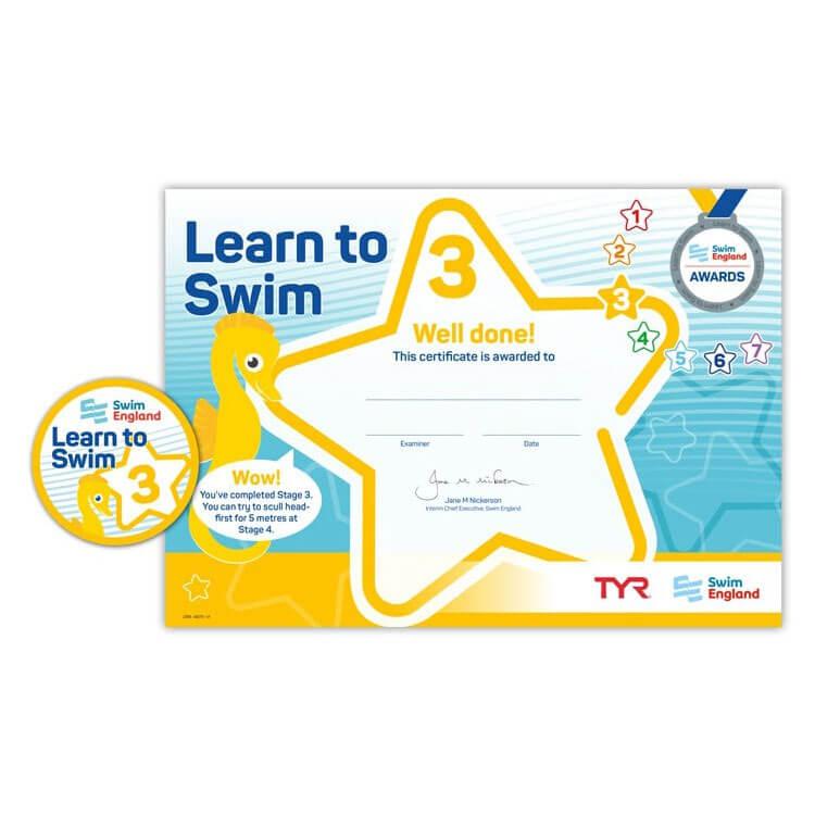 Star Swimming Academy Online Shop - Learn to Swim - Swim England Stage 3 Award