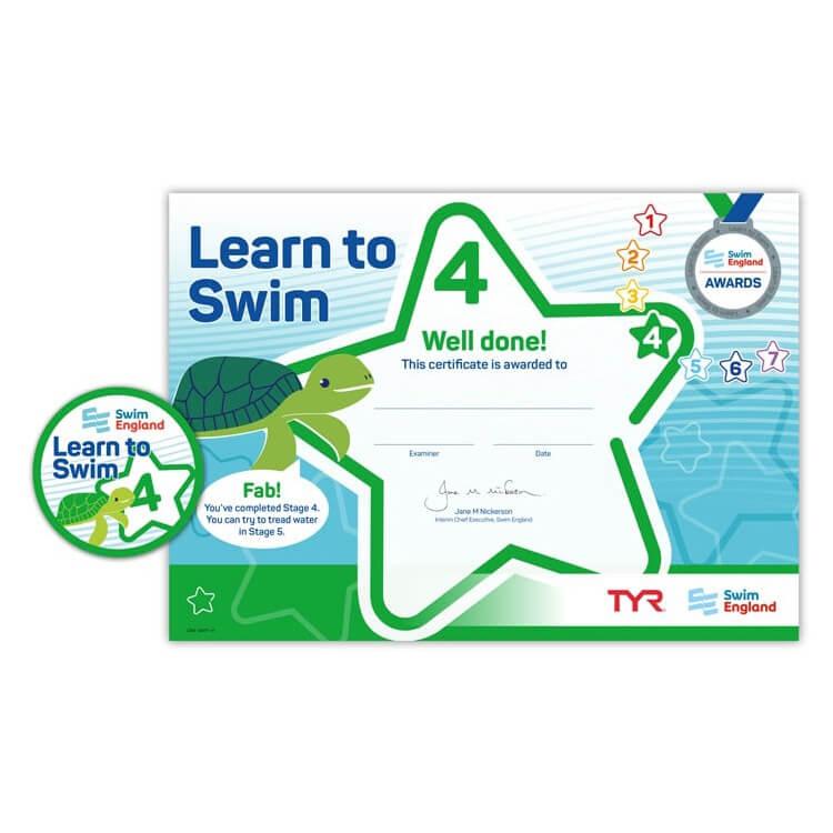 Star Swimming Academy Online Shop - Learn to Swim - Swim England Stage 4 Award