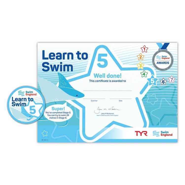 Star Swimming Academy Online Shop - Learn to Swim - Swim England Stage 5 Award
