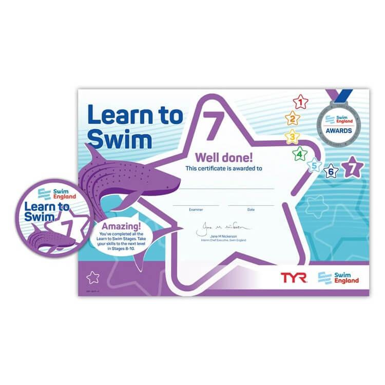 Star Swimming Academy Online Shop - Learn to Swim - Swim England Stage 7 Award