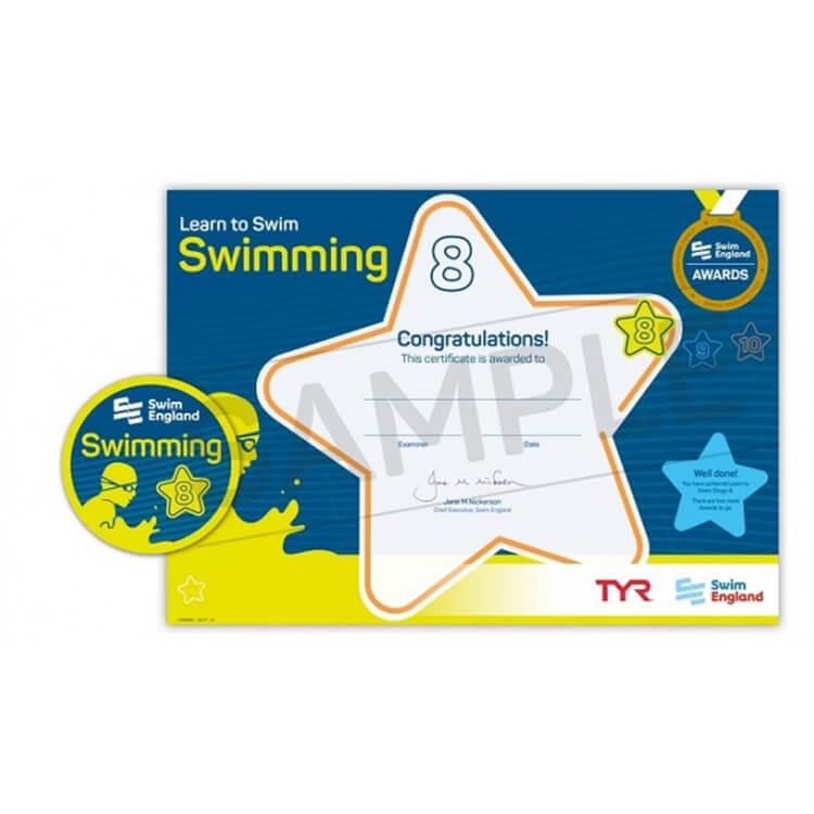 Star Swimming Academy Online Shop - Learn to Swim - Swim England Stage 8 Award