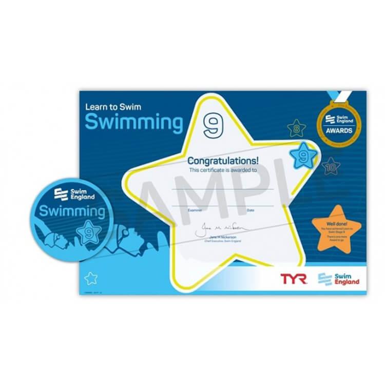 Star Swimming Academy Online Shop - Learn to Swim - Swim England Stage 9 Award