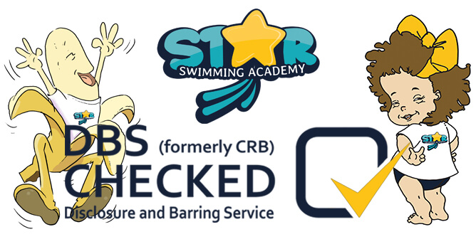 Star Swimming Academy Child Protection DBS Banner