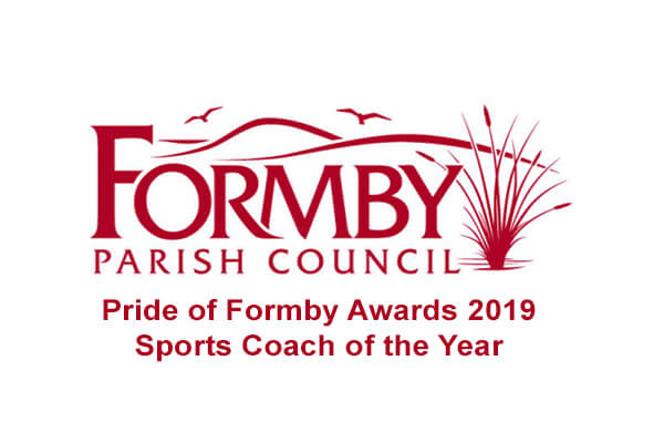 star swimming academy formby parish council award sports coach of the year will kildare 2019