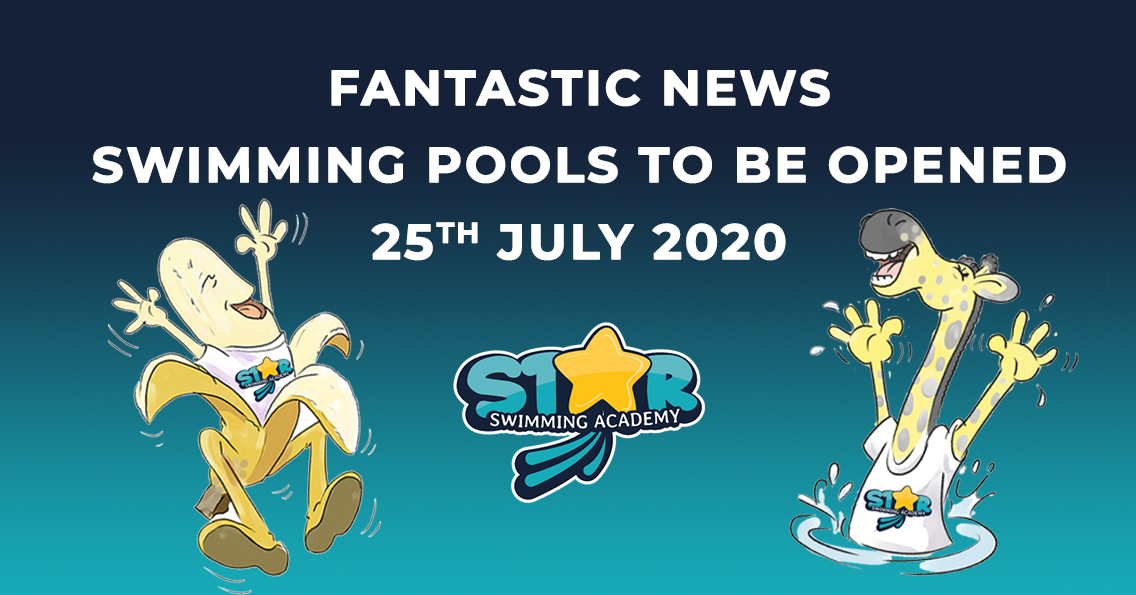 Star-Swimming Academy news banner swimming pools to open