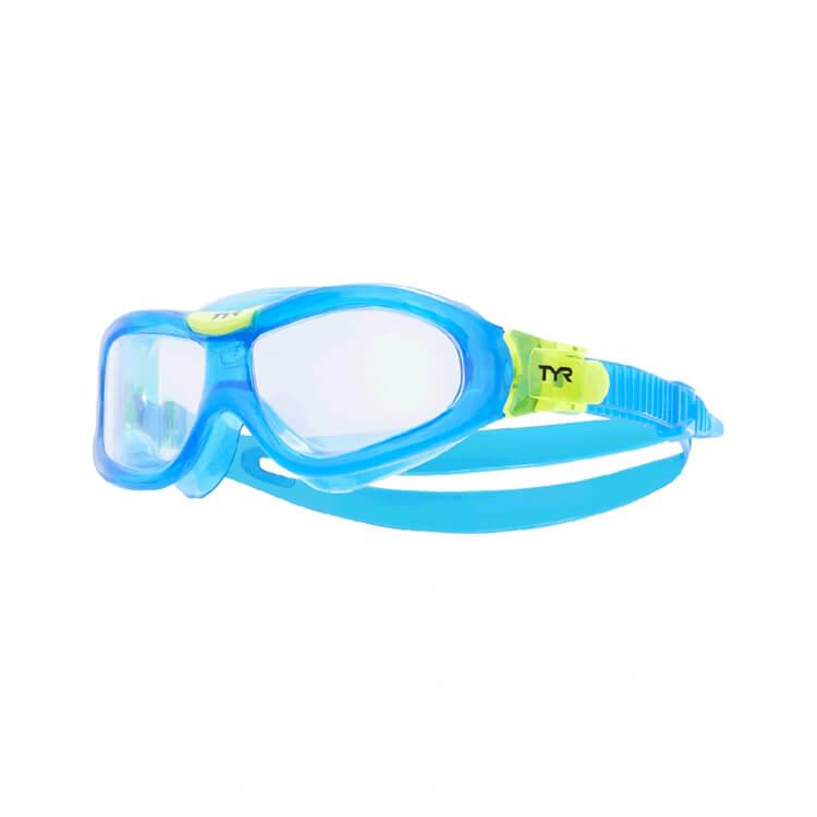 Star Swimming Academy Online Shop - Tyr Youth Blue Rogue Swim Mask Lgrsmkd709