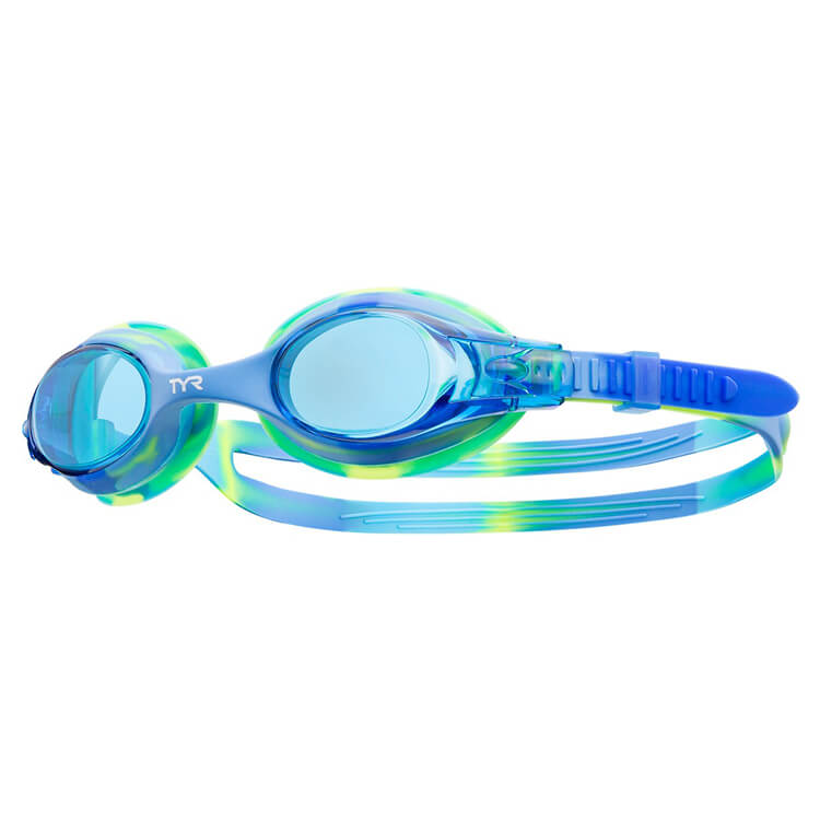 star swimming academy online shop tyr swimples blue tie dyed goggles lgswtd487