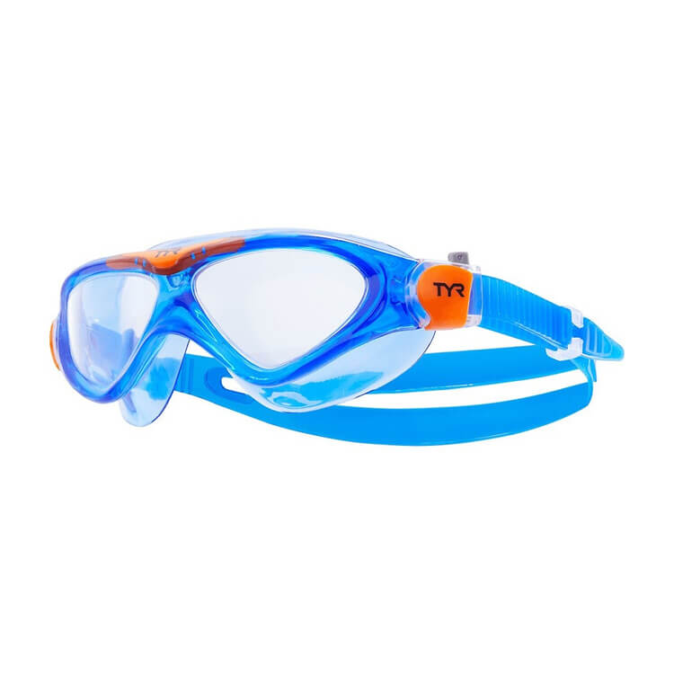 Star Swimming Academy Online Shop - Tyr Youth Blue Rogue Swim Mask Lgrsmkd709
